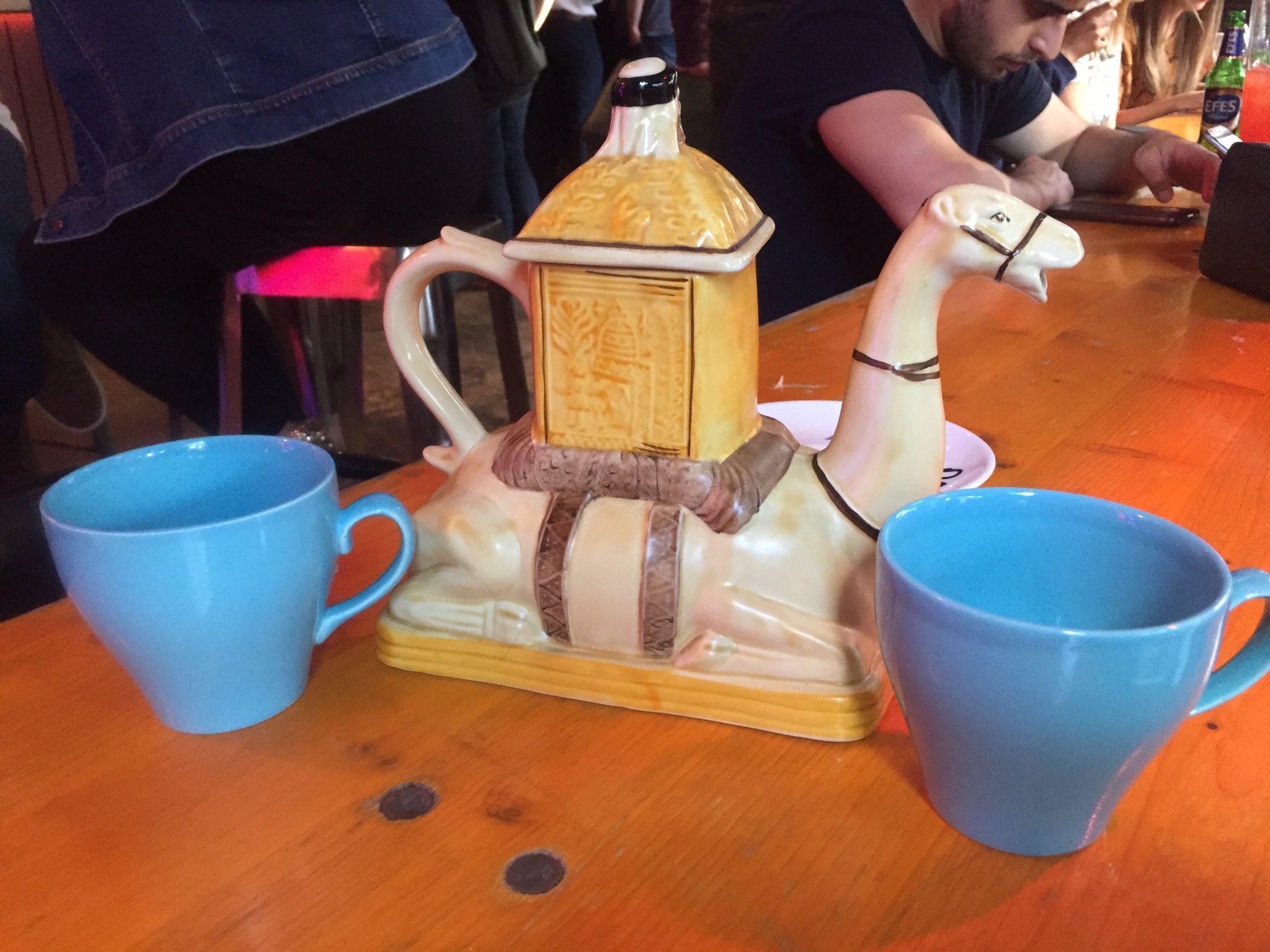 Simmons teapot