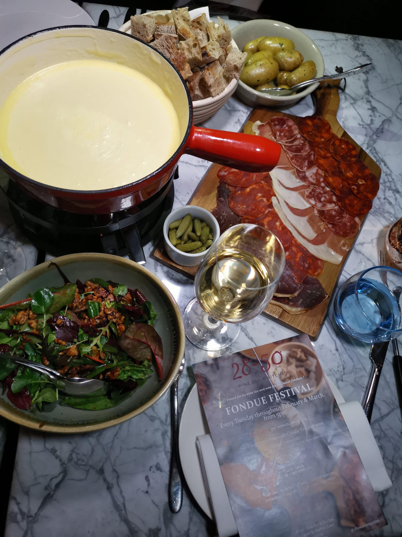 28-50 Wine Bar & Kitchen Fondue Experience